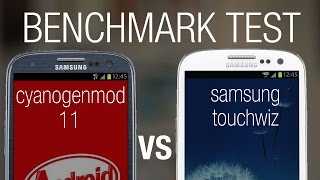 CyanogenMod 11 vs Samsung Touchwiz - Full Antutu Benchmark Test 2014 (Galaxy SIII)