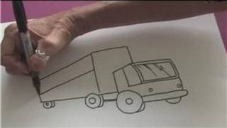 Drawing Lessons : How to Draw a Big Rig