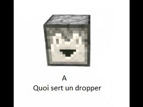 a quoi sert le dropper minecraft youtube. Black Bedroom Furniture Sets. Home Design Ideas