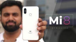Xiaomi Mi 8 First Impressions: A OnePlus 6 Competitor?