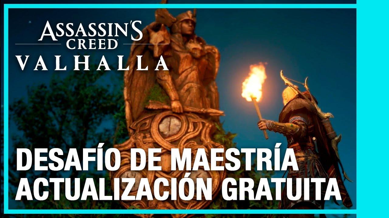 Assassin's Creed Valhalla - Mastery Challenge Actualización Gratuita | Ubisoft LATAM