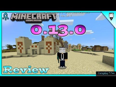 Minecraft PE 0.13.0 Build 1 Review Y Cambios - RedStone, Conejos Y Más / No Apk