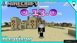 Minecraft PE 0.13.0 Build 1 Review y Cambios - RedStone, Conejos y más / No Apk