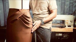 Draping skirt - Draṗing rok - Rok drapery