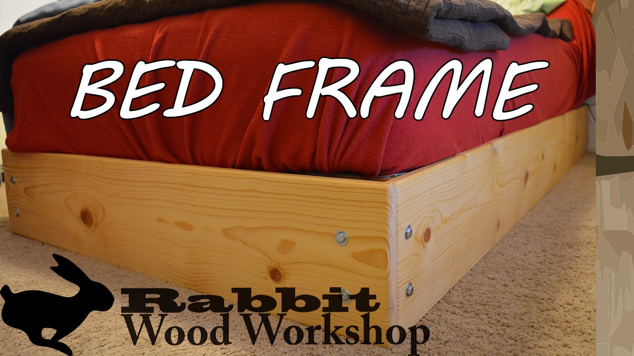 Easy To Build Bed Frame Youtube