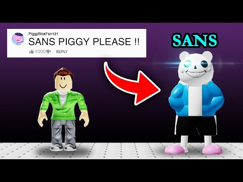Turning COMMENTS Into PIGGY Ideas In PIGGY In Roblox!