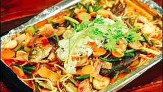 【微体兔菜谱】用烤箱来做一条酱香烤鱼