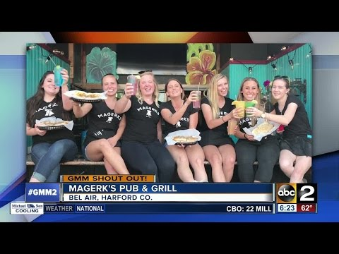 Good morning shout-out from Magerk's Pub & Grill in Bel Air