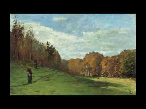 3 Claude Monet Woodgatherers at the Edge of the Forest c.1863 Museum of Fine Arts