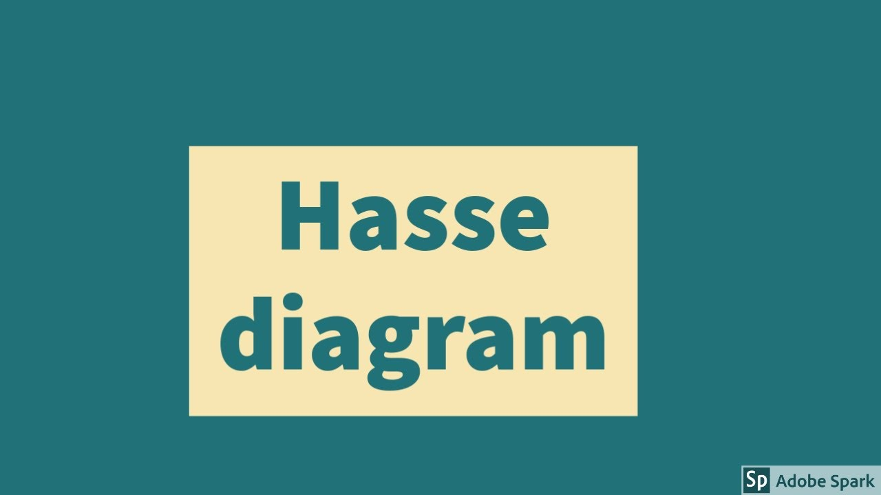 Hasse Diagram Discrete Mathematics Youtube