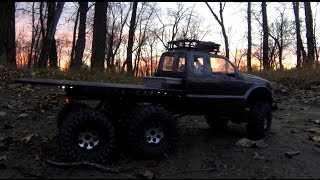 Rc Cwr Axial 6x6 Into The Night
