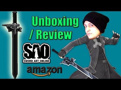 SAO Kirito's Sword Elucidator Unboxing/Review