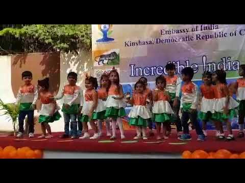 Jewels School of Kinshasa -Republic day 2018