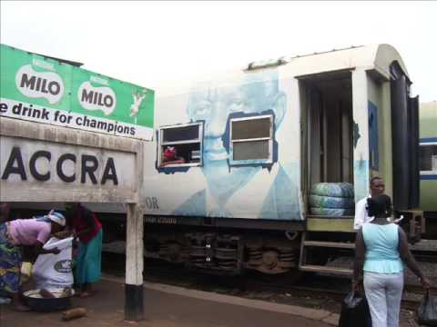 Leaving Accra By Train