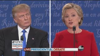 Presidential Debate - Clinton: Trumped up trickle down
