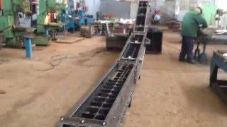 Конвейер скребковый(Испытания конвейера скребкового www.conveyer.com.ua convpr@ukr.net (032)255-88-50 (032)255-88-09., 2016-02-22T11:20:50.000Z)