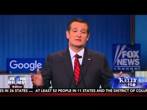 Ted Cruz on the Kelly File After the #GOPDebate