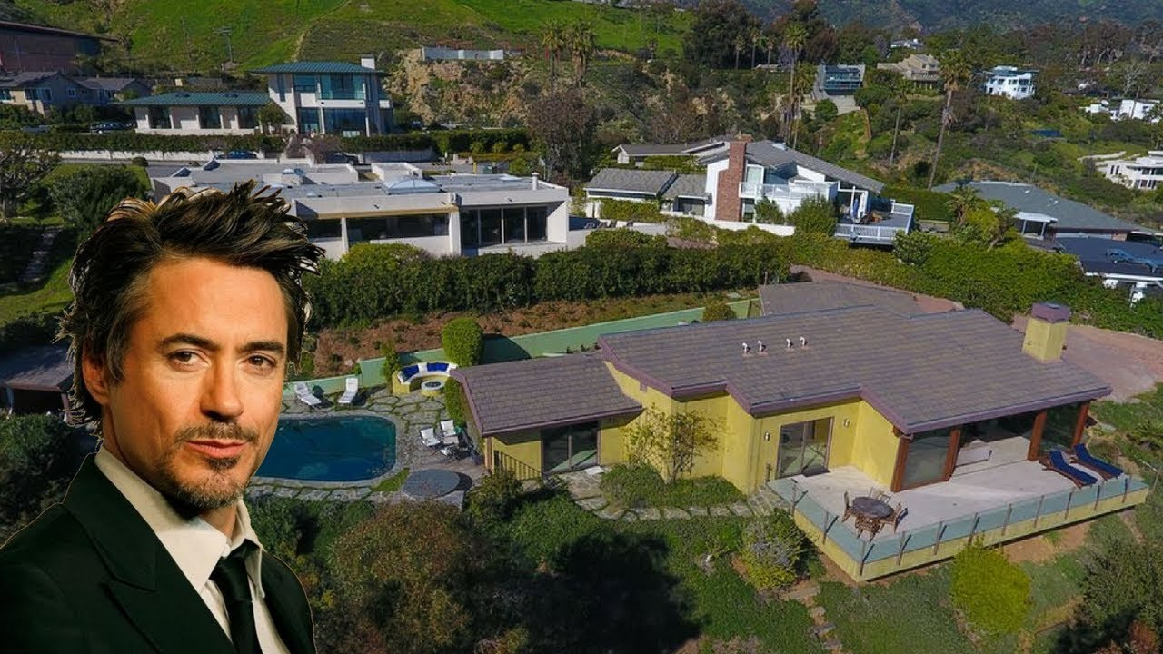 robert downey jr iron man beautiful mansion house in malibu youtube. Black Bedroom Furniture Sets. Home Design Ideas