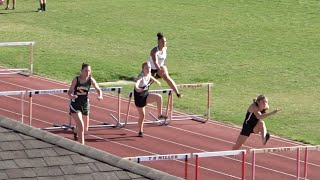 2021 T.R. Miller #3 Home Track Meet - Girl's 100 M Hurdles - 04/08/2021