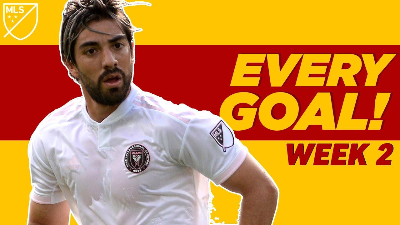 Pizarro's First Goal & Carlos Vela Freekick + Defender's 40 Yard GOLAZO!   EVERY MLS GOAL WEEK 2