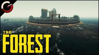 SECRET HIDDEN BASE! The Ultimate Island Fortress | The Forest Gameplay