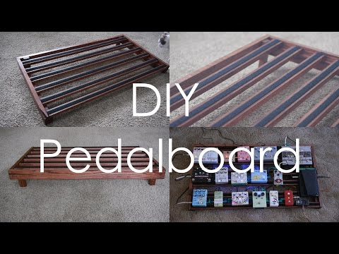 How To Make A Pedalboard (No Power Tools Required)