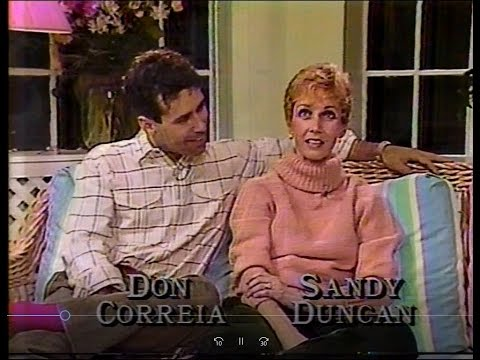 "Sandy Duncan, Don Correia in ""My One and Only"" 1985"