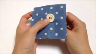 4つ穴ボタンの付け方です。簡単ですので、ぜひご参考にしてください。 ...