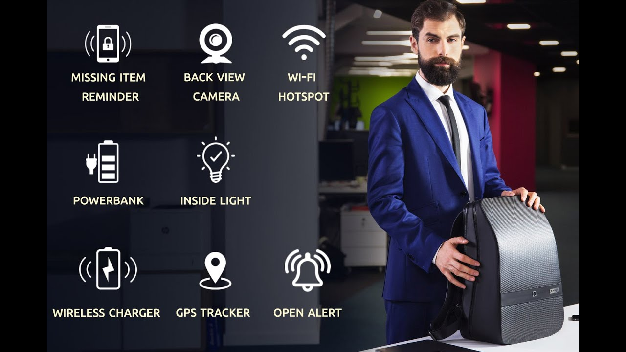 LUMZAG: The Smart Bag Packed With 7 Cool Features | Indiegogo