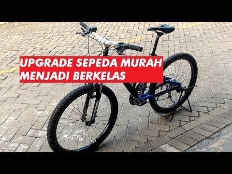 Modif Sepeda MTB Murah Terlihat Berkelas Ala Douzo 21