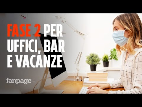 Come sarà la fase 2 del Coronavirus: cosa succede dal 4 maggio per negozi, bar, uffici e vacanze