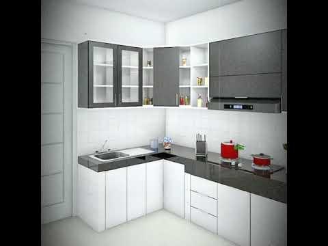 Kitchen Set Aluminium Warna Coklat Sekitar Surabaya Youtube