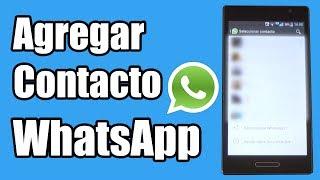 Cómo agregar un contacto en WhatsApp thumbnail
