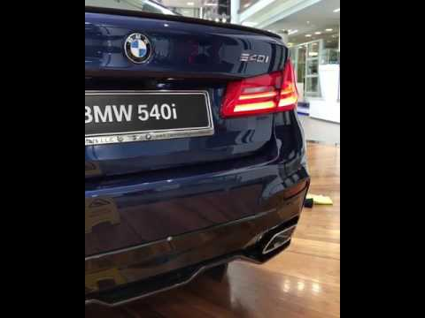 Bmw 540 M Performance Exhaust Youtube