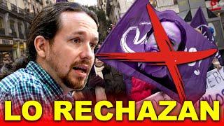 Podemitas ATACAN a Pablo Iglesias