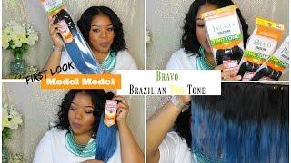 Mode Model Bravo Brazilian Two Tone Hair | First Look