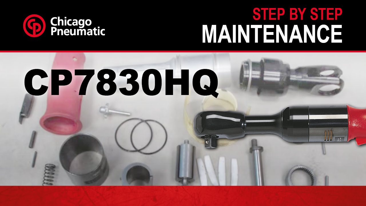 Cp7830hq Ratchet Wrench Tool Maintenance Demo Youtube De Walt Air Compressor Wiring Diagram