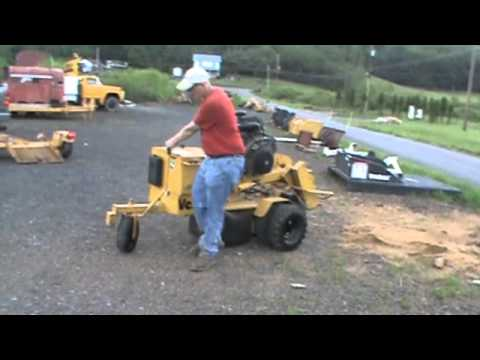 Vermeer Stump Grinder For Sale >> 2006 Vermeer SC252 Stump Grinder With Vermeer TLR25 ...