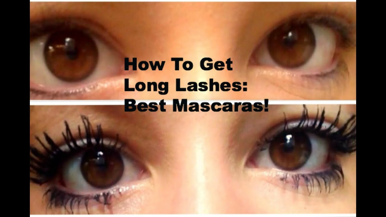How To Make Your Eyelashes Long And Thick What Mascaras To Use