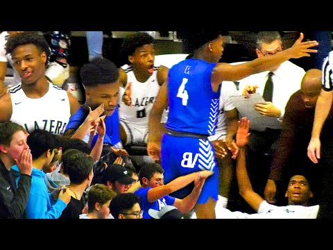 #1 Sierra Canyon CHALLENGED vs #25 Windward! Ziaire Williams, BJ Boston & Harold Yu CARRY in CLUTCH! |
