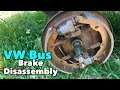 Early VW Bus - Front Brake Disassembly