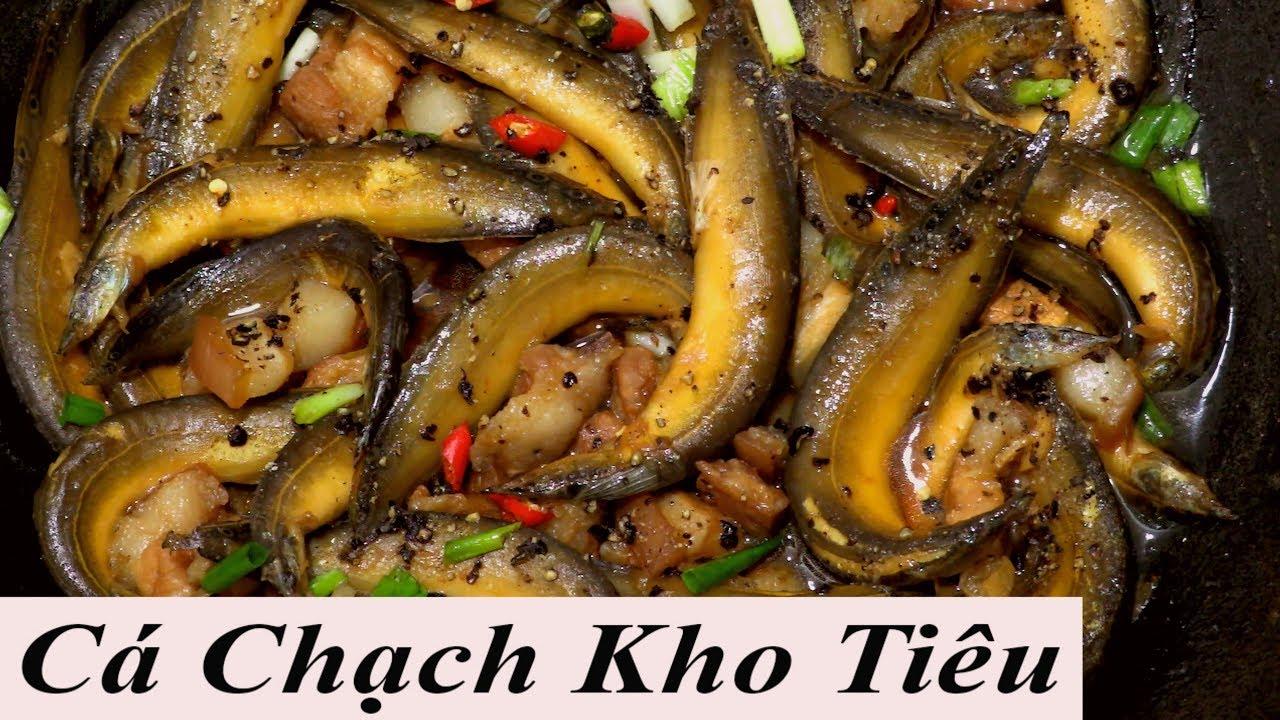 CÁ CHẠCH kho tiêu đặc sản Miền Tây cá chạch sông…. caramenlized fish vietnam food