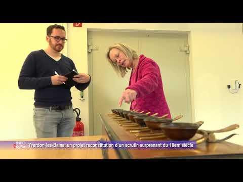 Yverdon-les-Bains: un projet reconstitution d'un scrutin surprenant du 18em siècle