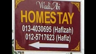 WadiAbi Homestay - Batu Kurau, Taiping, Perak