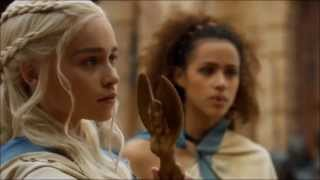 vuclip Don't mess with Daenerys Stormborn of Targaryen. Speaking Valyrian. Season 3, episode 4.