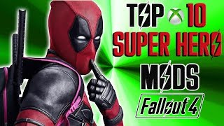 Fallout 4 top ten super hero mods mods. This video does a review of...