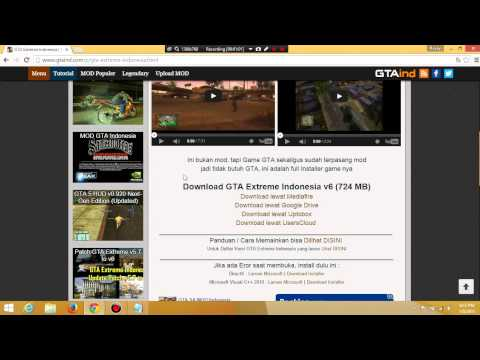 Cara Download GTA EXTREME INDONESIA (EASY)