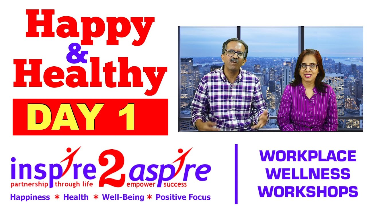 Happy & Healthy 21-Day Challenge - Day 1 Clapping & Its Benefits