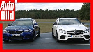 Mercedes-AMG E 63 S+ vs. BMW M5 (2018) Vergleich/Test/Review