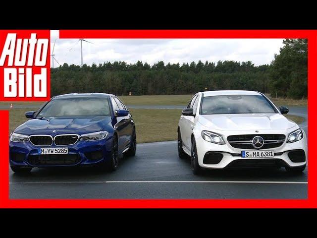 Mercedes-AMG E 63 S+ vs. BMW M5 (2018) Vergleich/Test/Review